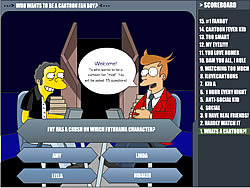 Cartoon Quiz game