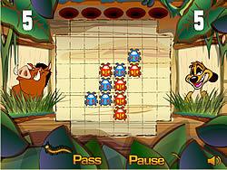 Permainan Timon and Pumbaa's Bug Trapper