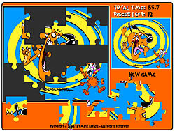 Mad Dog Saw Puzzle game