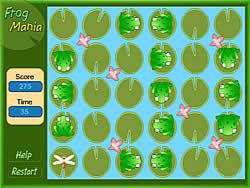 Frog Mania game