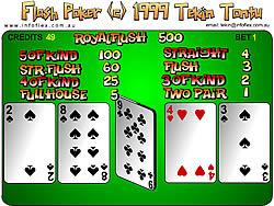 Flash Poker game