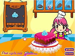 मुफ्त खेल खेलें Delicious Cake Shop