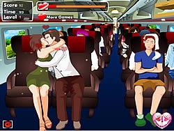 Kissing Express game