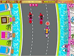 Permainan Anita's Cycle Racing