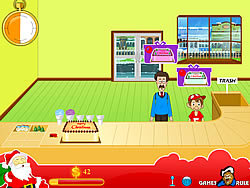 मुफ्त खेल खेलें Christmas Cake Shop