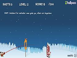 मुफ्त खेल खेलें Christmas Cannon Blast