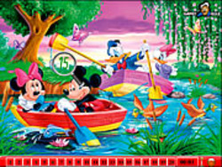 Hidden Numbers - Mickey Mouse game