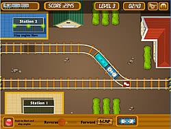 Park My Train game