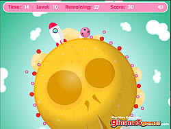 Galactic Melody Catcher game