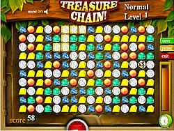Treasure Chain game
