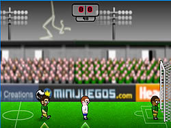 Head Action Soccer game