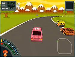 Zombie Racing game