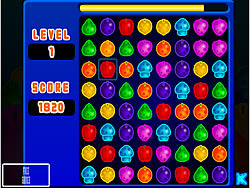 Puzzle Fruits game