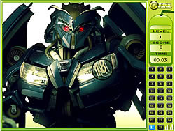 Transformer - Find The Numbers game
