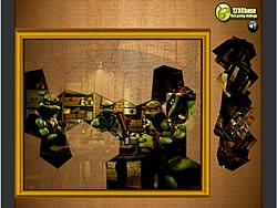 Permainan Puzzle Madness - Ninja Mutant