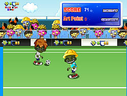 Permainan Zombie Soccer 2