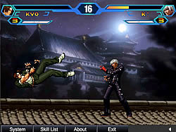 King Of Fighters Wing spel