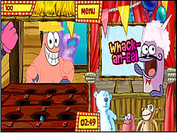 Maglaro ng libreng laro Sponge Bob Square Pants: Bikini Bottom Carnival Part 2