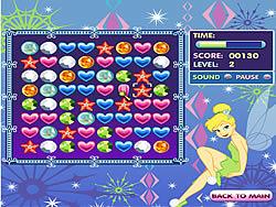 Tinkerbell's Jewel Jumble game