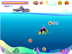 Penguin Dive game
