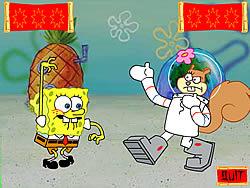 Sponge Bob Square Pants: kah Rah Tay Contest game