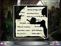 Hidden Hints - Secret Of Omnitrix game