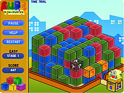 Gioca gratuitamente a Cube Tema
