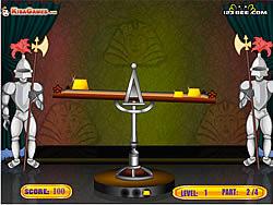 Balance The Gold game