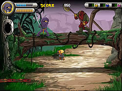 3 Foot Ninja I - The Lost Scrolls game