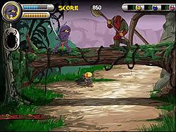 Gioca gratuitamente a 3 Foot Ninja I - The Lost Scrolls