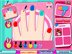 Gioca gratuitamente a Cutie Nail Salon