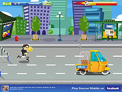 Gillette Soccer Mobile game