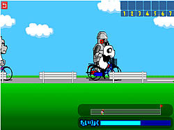 Panzo Bicycle Race game