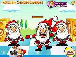 Permainan Santa Claus Dancing