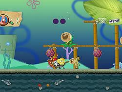 Gioca gratuitamente a Sponge Bob and Patrick:Dirty Bubble Busters