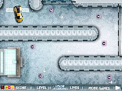 Snow Parking game