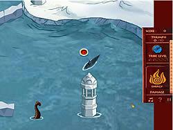 Играть бесплатно в игру Avatar Fire Nation Barge Barrage
