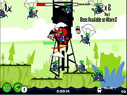 Ninja Hamsters vs Robots game