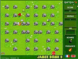 Играть бесплатно в игру James Bomb 2