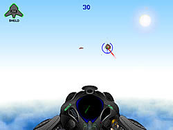 3D Spacehawk game