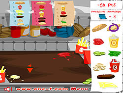 Permainan XXXL Burger