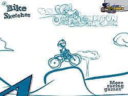 Permainan Bike Sketches