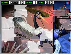 Kungfu Panda 2 Jigsaws game