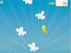 Gioca gratuitamente a Tweety's Cloud Jumper