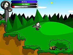 Gioca gratuitamente a Millie Megavolte 2: Millie and the Stolen Sword of Awesome