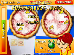 Permainan Perfect Pizza
