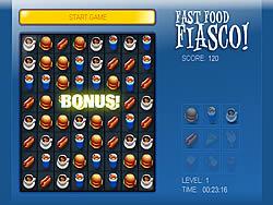 Играть бесплатно в игру Fast Food Fiasco