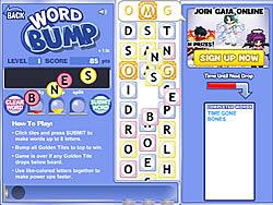 Играть бесплатно в игру Word Bump
