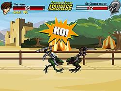 Играть бесплатно в игру Monster Joust Madness