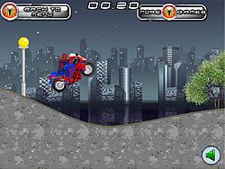 Spiderman Motobike game